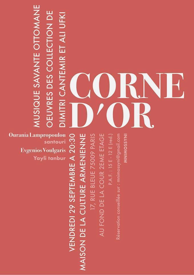 corne d'or
